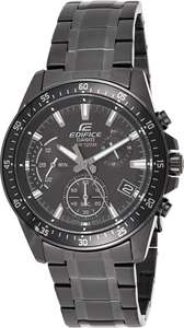 Casio Edifice Horloge Zwart Chronograaf