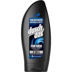 Duschdas voor mannen 2 in 1 Duschgel & Shampoo, 6er Pack (6 x 250 ml)