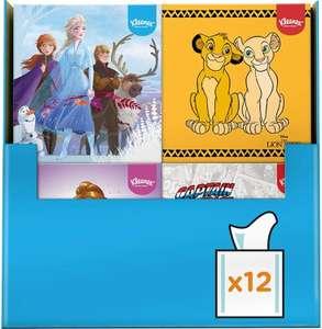 Kleenex tissues Disney - zakdoekjes - 672 tissues - 12 x 56 stuks - Voordeelverpakking