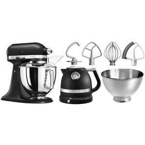 KitchenAid keukenmachine Artisan 5KSM175PSEBK met gratis waterkoker