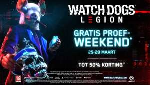Gratis Watch Dogs: Legion Proefweekend 25 - 28 maart