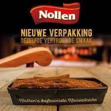 Bij Albert Heijn: Streekgenoten Kaneelcake Bakkerij Nollen