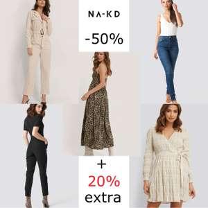 NA-KD -50% + 20% EXTRA met code [va €65]