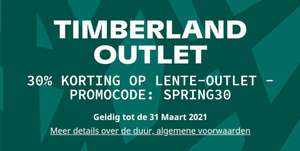 Timberland outlet - 30% extra korting