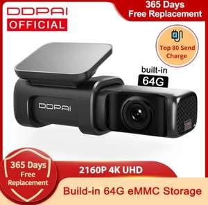 DDPai Mini 5 True 4K Wifi GPS 64gb dashcam
