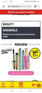 [Dagaanbieding] L'Oréal Paris - Volume Million Lashes mascara's @ Kruidvat