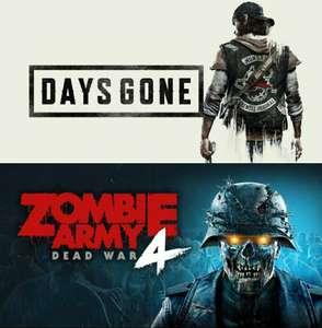 PlayStation plus April: Day's gone, Zombie Army 4: Dead War, Oddworld: Soulstorm