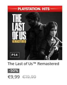 The Last of Us Remasterd / Playstation Store