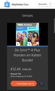 De Sims 4 Plus Honden en Katten Bundel PS4