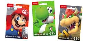10% korting op Nintendo eShop tegoed en Nintendo Switch Online