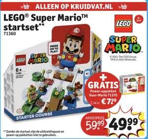 Lego super Mario startset + power upppakket vuur- Mario