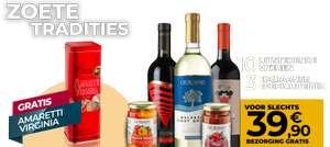 10 Wijnen + 4 Delicatessen @ Giordano Vini ( of met 12 borden )