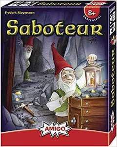Saboteur Kaartspel €6,09 + Uitbreiding €6,82 @ Amazon.nl