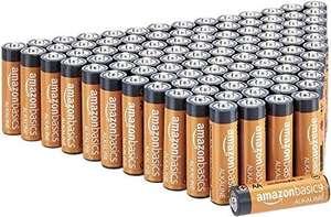 AA Alkaline batterijen AmazonBasics 100 stuks