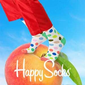 Happy Socks: 20% korting + gratis verzending | voor 40 punten op Thuisbezorgd