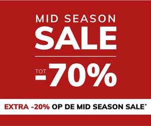 Mid Season Sale tot 70% korting [+ dit weekend 20% extra] @ MS mode