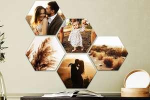 80% korting op foto op Hexagon (vanaf €2,79) @ Fotoproducten.nl