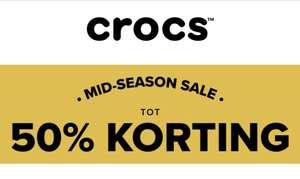 Crocs Gratis verzending! Tot 50% korting MID-SEASON SALE