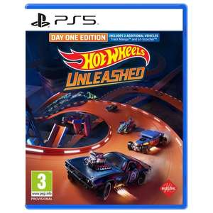 Hot Wheels Unleashed Day One Edition (PS5, PS4, Xbox, Switch)