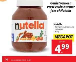 Mega pot Nutella 975 gram @Lidl