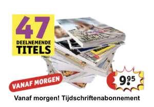 Tijdschriften abonnement Kruidvat 4 of 8 edities