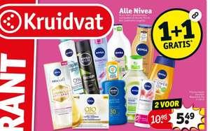 Alle Nivea 1+1 gratis   Kruidvat