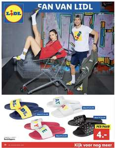 Lidl fan wear! [slippers/kleding/sneakers]