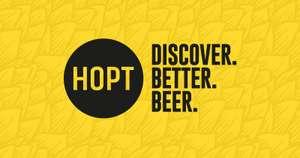 Hopt is jarig en geeft 14% korting op heel veel bieren
