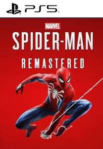 Marvel's Spider-Man Remastered (PS5) PSN Key