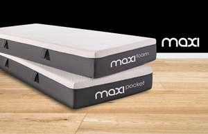 50+5% korting op Maxi Matrassen via Beddenreus