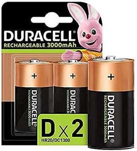 Duracell oplaadbare batterijen maat D - 2 stuks