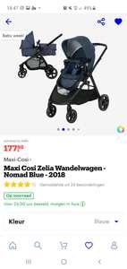 Maxi Cosi Zelia Wandelwagen 2-in-1 - Nomad Blue - 2018