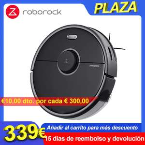 Roborock S5 max AliExpress member price, 7 day delivery (Spanje)