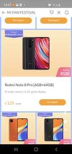 Xiaomi redmi note 8 pro 6gb+64gb