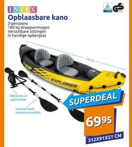 @Action, Intex opblaasbare kano €69.95