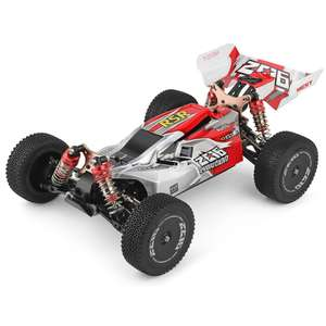 Wltoys 144001 1:14 4WD RC Car 60km/h - Red