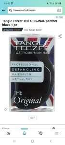 Tangle teezer THE ORIGINAL haarborstel