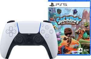 Sony PlayStation 5 DualSense draadloze controller + Sackboy: A Big Adventure