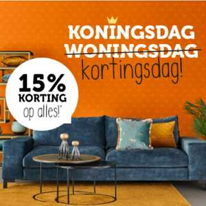 Woonexpress   -15% korting op alles