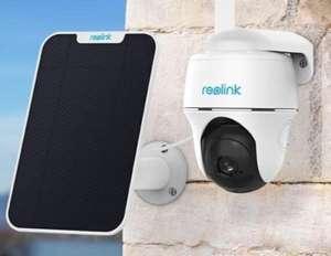 Reolink Go PT 4G IP Camera + Solar Paneel voor €251, @ Reolink
