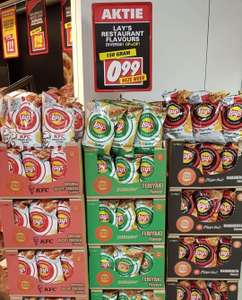 Lay's kfc, subway en Pizza hut voucher op de verpakking (Nettorama)