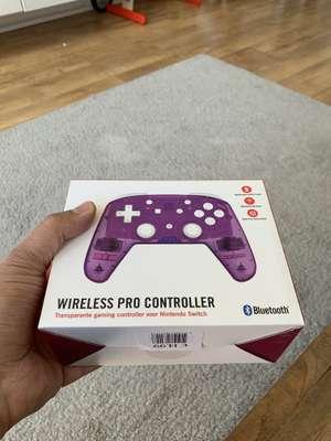 Transparante wireless pro controller voor de Nintendo switch (Lokaal? Soesterberg)