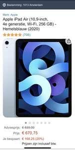 iPad Air 2020 256GB WiFi