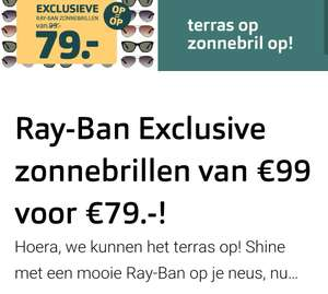 Diverse(6) Ray-ban zonnebrillen €79