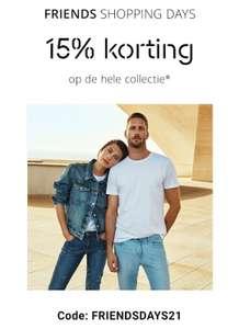15% korting bij Esprit online en winkel