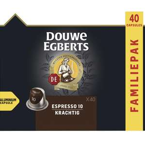 5x40 (200) Douwe Egberts capsules voor Nespresso apparaat