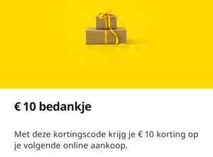 [Persoonlijk?] Ikea Family members krijgen €10 korting in Nederland