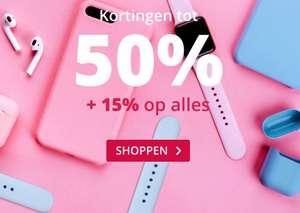 Smartphonehoesjes Sale tot 50% korting + 15% (extra) korting op alles