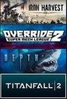 (4 Gratis weekend games) Iron Harvest, Override 2: Super Mech League, Depth, Titanfall® 2