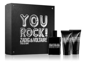 Zadig and Voltaire - This is Him 50ml. giftset voor mannen